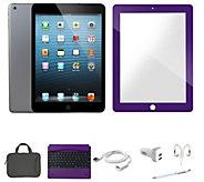Apple iPad Mini 2 32GB w/ BT Keyboard Carry Case & ScreenProtector - E230707