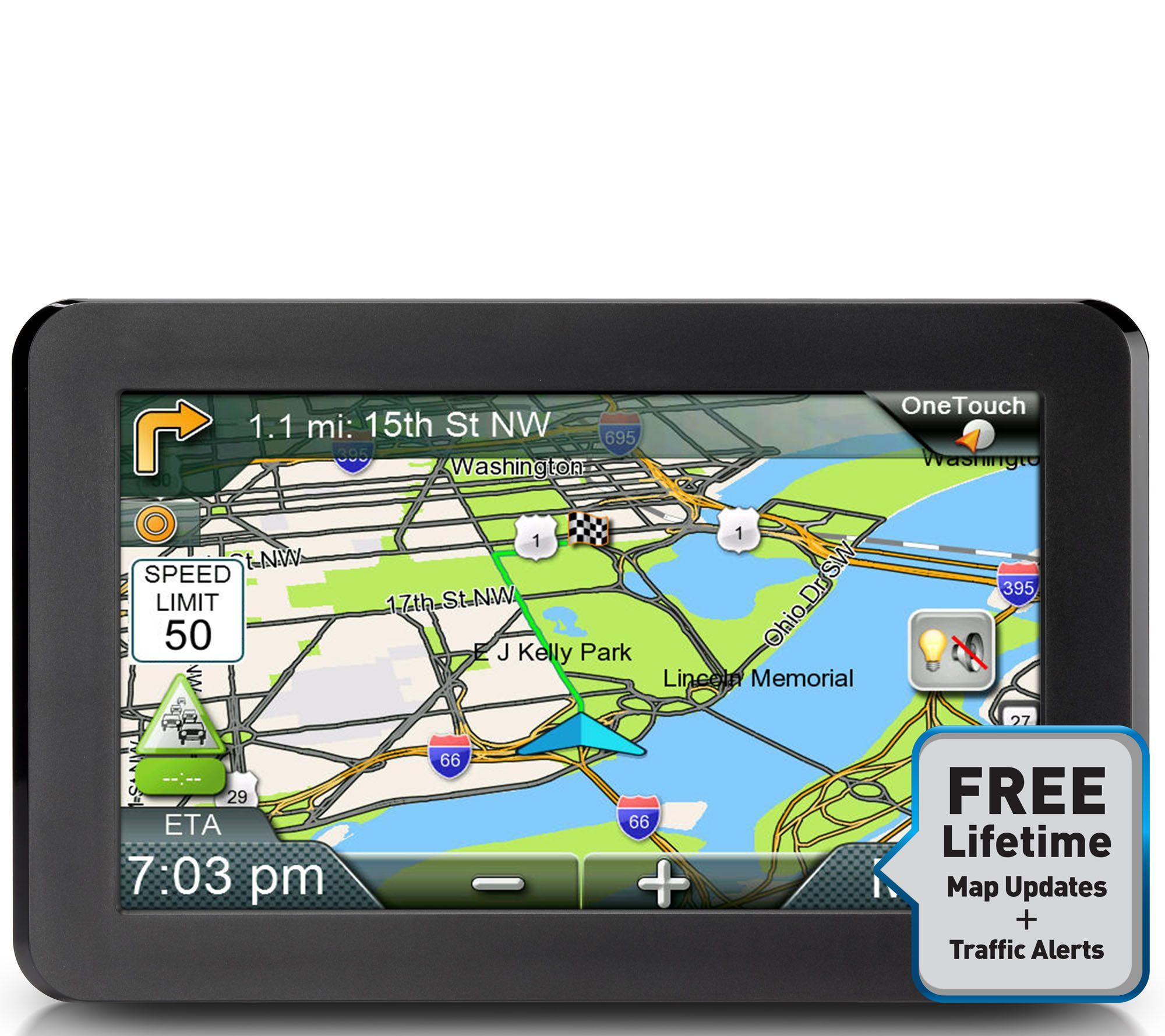 Magellan 7 roadmate gps w lifetime map updates and traffic alerts e231007 best seller