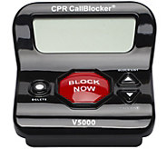CPR Call Blocker with 3 Inch Display & 6500 Number Blocking - E231407
