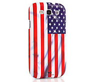 White Diamonds US Flag Samsung Galaxy S3Case - E263407