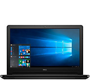 Dell 15 Laptop Touch Windows10 AMD Quad Core 6GB RAM 1TB HDD Lifetime Tech - E229508