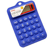 Royal RB102 Blue Flexible Rubber Calculator - E264008
