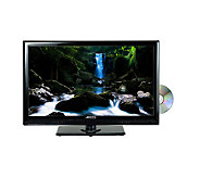 Axess 24 Class LED TV with Built in DVD Player - E277808