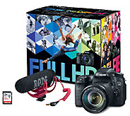 Canon EOS 70D DSLR Camera & Video Creator Kit - E285108