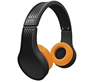 Phaz Over-Ear Headphones with Mic & IntegratedPower Charger - E286508