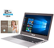 ASUS 13.3 Zenbook Touch Laptop - i7, 12GB, 512GB, Software - E287908