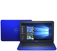 Dell Inspiron 11.6 HD Laptop Intel 4GB RAM AC Wifi, BT 4.0 Lifetime Tech - E230109