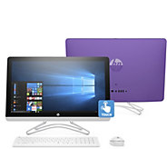 HP 24 Touch All-in-One PC Intel Core i3 1TB HDD w/ Tech Support - E231509