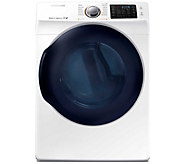 Samsung  7.5 Cu. Ft. Front Load Electric Dryerw/ Steam- White - E288609