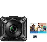Nikon KeyMission 360 4K Action Camera - E290709