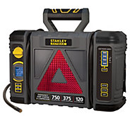 Stanley 750 Peak Amp Jump Starter with Reflector and Storage - E231010