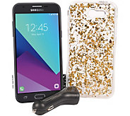 Tracfone Samsung Galaxy J3 Luna Pro 5 w/ Case & 1500 Min/Text/Data - E231210