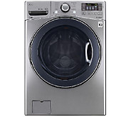 LG 4.5 Cu. Ft. Ultra-Capacity Front-Loading Washer - Graphite - E285710
