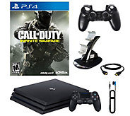 Sony PS4 Pro 1TB with Call of Duty: Infinite Warfare - E290210