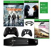 Xbox One 1TB The Division Bundle w/ Forza & Halo 5 - E290310