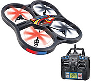 Panther 23Wide Drone w/ Camera FlipStunt Mode LED Lights,Apps & Controller - E228511