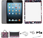 Apple iPad Mini 2 32GB w/ Carry Case BT Keyboard & ScreenProtector - E230811