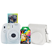 Fujifilm Instax Mini 9 Instant Film Camera with Film and Case - E231411