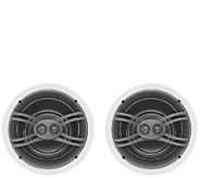 Yamaha 130W Two-Way Flush-Mount Speaker System - E285611