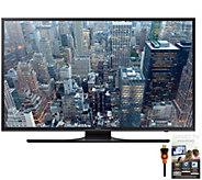 Samsung 60 Class LED 4K Ultra HD Smart TV w/ Apps, HDMI Cabl - E288311