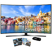 Samsung 43 LED Curved Ultra HDTV with App Packand HDMI Cable - E289211