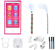 Apple iPod Nano 16GB with Earbuds &Accessories - E289411