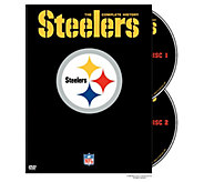 NFL History of the Pittsburgh Steelers 2-DiscDVD Set - E290411
