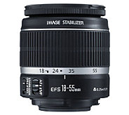 Canon EF-S 18-55mm f/3.5-5.6 IS Standard Zoom Lens - E205812