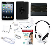 Apple iPad Mini2 Retina` 32GB WiFi with 7pc Starter Kit Keyboard & Case - E227412
