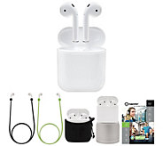 Apple AirPods with Charging Case, Stand, and Accessories - E231912