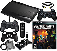 Sony PS3 System 500GB Minecraft Bundle - E280012