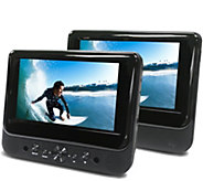 Ematic 7 Dual Screen Portable DVD Player - E287012