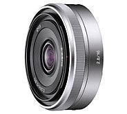 Sony SEL16F28 16mm f/2.8 Wide-Angle Lens - E287712