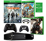 Xbox One 1TB The Division Bundle with Ryse, Sunset Overdrive - E290312