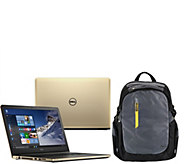 Dell 17 Laptop AMD Quad Core 8GB RAM 1TB HDD LifetimeSupport , Dell Backpack - E228813