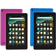 Amazon Fire 8GB Tablet 2-Pack w/ Alexa Voice Assistant,Cases & Voucher Packs - E230713