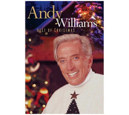 Andy Williams: Best of Christmas DVD — QVC.com