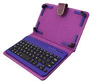 Universal 7-8 Tablet Case w/ Bluetooth Keyboard - E225314