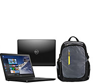 Dell 17 Laptop AMD Quad Core 8GB RAM 1TB HDD Support, Office , Dell Backpack - E228814