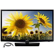 Samsung 24 Class LED HDTV w/ HDMI Cord - E287414
