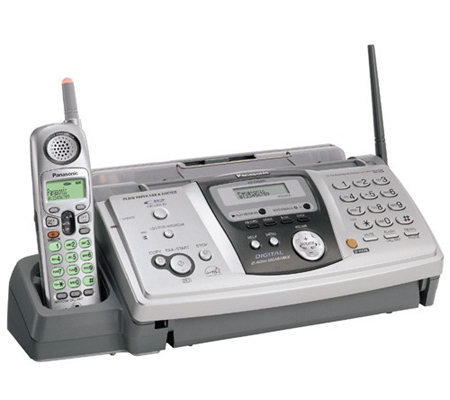 panasonic plain paper fax machine