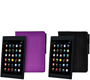 Gigaset 2-Pack 8 Android WiFi QuadCore Tablet 2 Case, Stylus, Tech & Protect - E228115