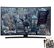 Samsung 65 Class LED 4K Ultra HD Curved SmartTV, HDMI & Apps - E288315