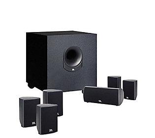 jbl scs136si 7 piece home theater speaker system. Black Bedroom Furniture Sets. Home Design Ideas