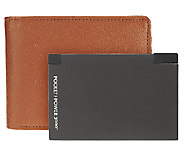 HALO Mens Wallet with 3000 mAh Charger and RFID Technology - E225716