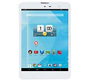 Trio 7.85 Quad Core 16GB WiFi 4G Android Tablet w/Free T-Mobile - E226716