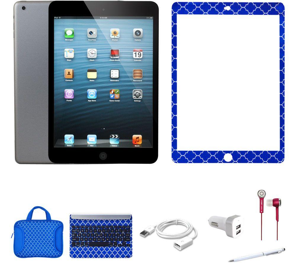 apple ipad mini 2 32gb w bt keyboard carry case. Black Bedroom Furniture Sets. Home Design Ideas