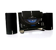SuperSonic Micro CD Player w/MP3, AM/FM Radio,Twin Speakers - E251216