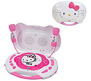 Hello Kitty CD Karaoke System/CD Player - E258016