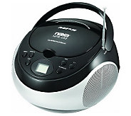 Naxa Portable CD Player with AM/FM Stereo Radio - E272316